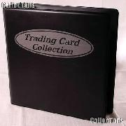 Trading Card Album by BCW 3 Ring Trading Card Album in Black