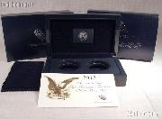 2012 American Eagle San Francisco Two-Coin Silver Proof Set OGP Replacement Box and COA