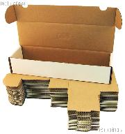Sports Cards Storage Box by BCW 800 Count Cardboard Storage Box