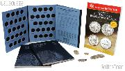 Jefferson Nickels Coin Collecting Starter Set with Folders, Book, and Coins