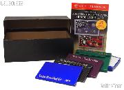 U.S. Mint Proof Set Coin Collecting Starter Set with Storage Box, Book, and Coins