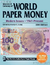 Krause Standard Catalog of World Paper Money Modern Issues 1961-Present, 20th Edition