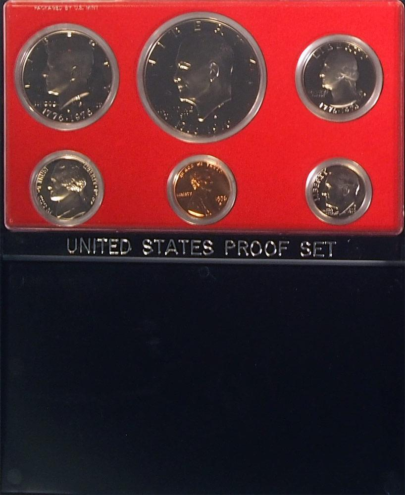 1976 PROOF SET * ORIGINAL * 6 Coin U.S. Mint Proof Set