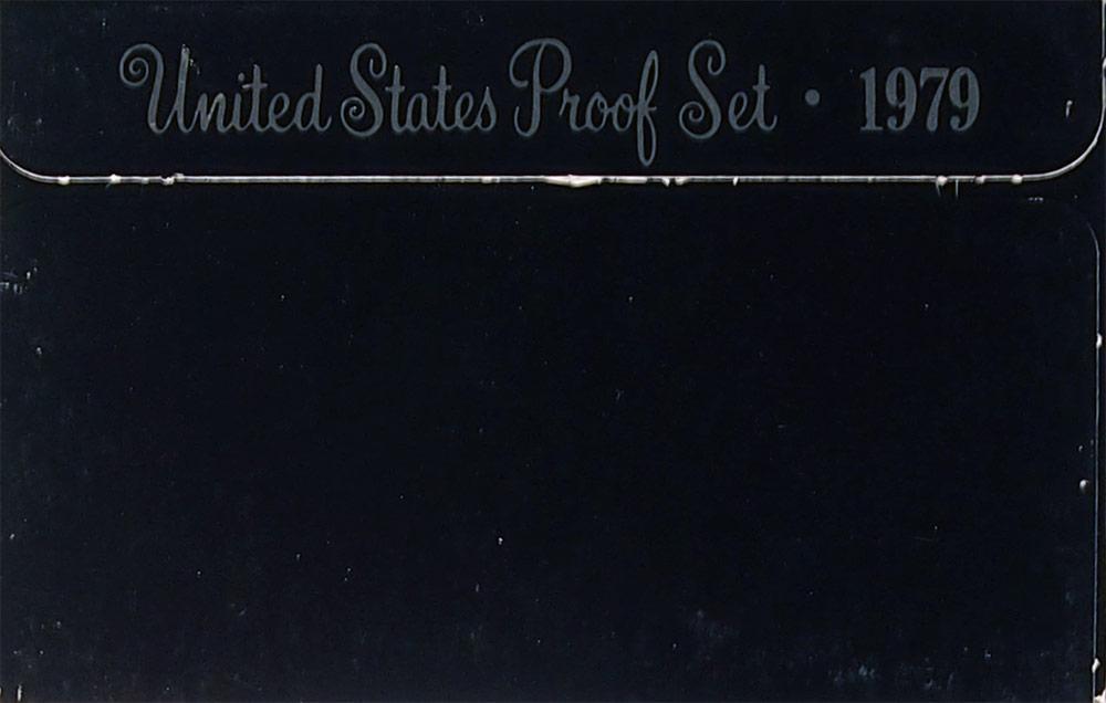 1979 PROOF SET ORIGINAL RARE TYPE 2 CLEAR S 6 Coin U.S. Mint Proof Set