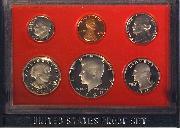 1980 PROOF SET * ORIGINAL * 6 Coin U.S. Mint Proof Set