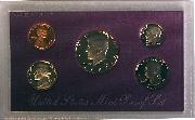 1989 PROOF SET * ORIGINAL * 5 Coin U.S. Mint Proof Set