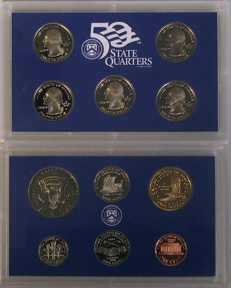 2004 PROOF SET * ORIGINAL * 11 Coin U.S. Mint Proof Set