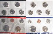 2000 Mint Set - All Original 20 Coin U.S. Mint Uncirculated Set