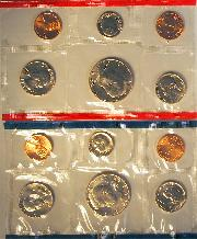 1984 Mint Set - All Original 10 Coin U.S. Mint Uncirculated Set