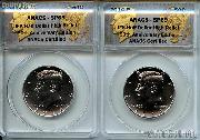 2014 P&D Kennedy Half Dollar High Relief 50th Anniversary Edition in ANACS SP 69