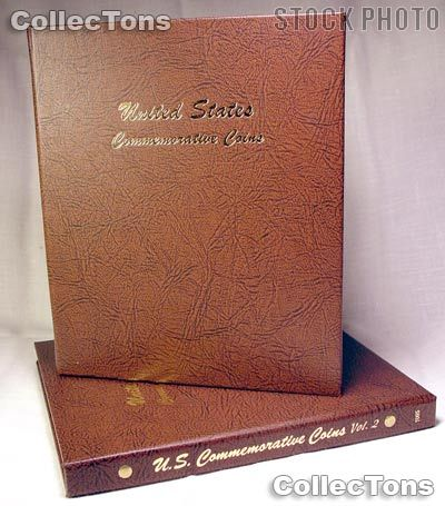 Dansco Commemorative Type Coins 2-Volume Album #7095