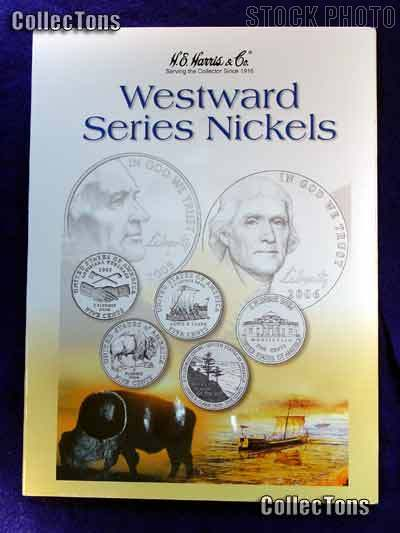 Harris Westward Nickels 2004-2006 Coin Folder
