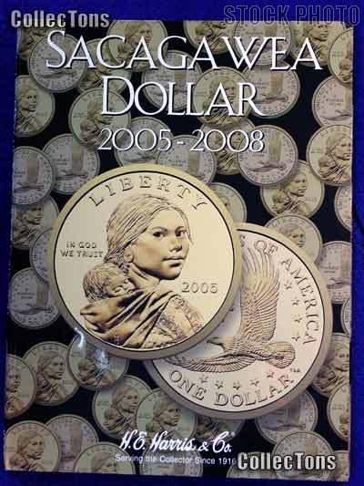Harris Sacagawea Dollars 2005-2008 Coin Folder 2943
