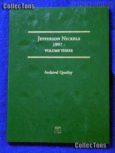 Littleton Jefferson Nickels 1997-Date Coin Folder LCF26