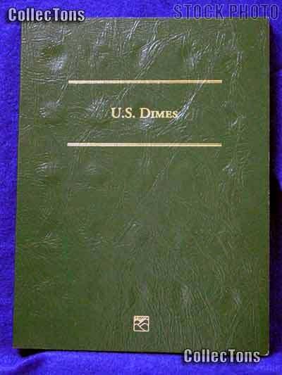Littleton Blank Coin Folder for U.S. Dimes LCFD