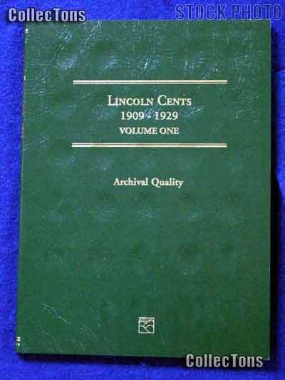 Littleton Lincoln Wheat Cents 1909-29 Coin Folder LCF18