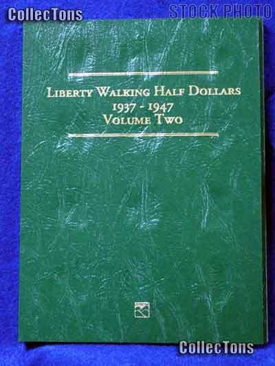 Littleton Walking Half Dollar 1937-47 Coin Folder LCF10