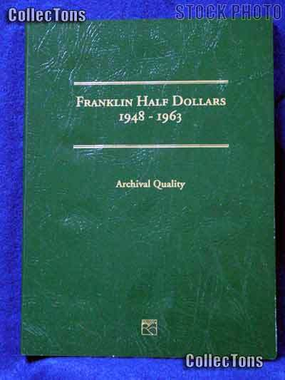 Littleton Franklin Half Dollars Coin Folder LCF9
