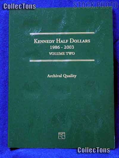 Littleton Kennedy Half Dollars 1986-03 Coin Folder LCF8