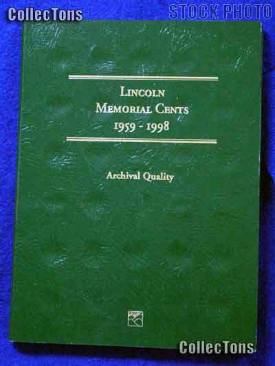 Littleton Lincoln Mem. Cents 1959-1998 Coin Folder LCF1