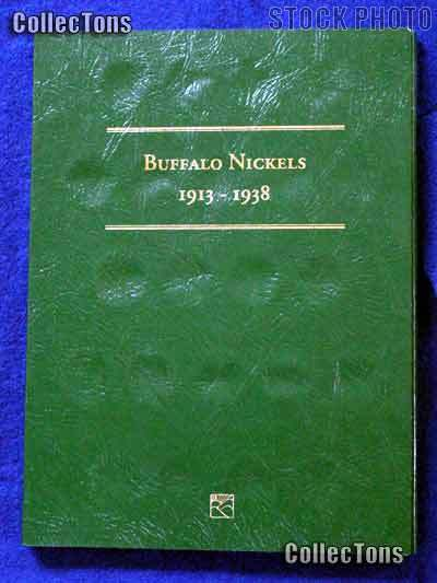 Littleton Buffalo Nickels 1913-1938 Coin Folder LCF24