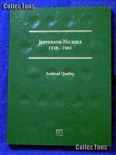 Littleton Jefferson Nickels 1938-1961 Coin Folder LCF25