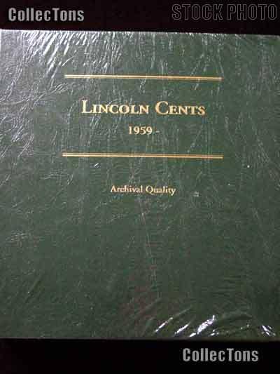 Littleton Lincoln Memorial Cents 1959-2011 Album LCA19