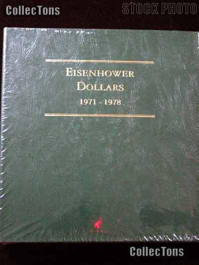 Littleton Eisenhower Ike Dollars 1971-1978 Album LCA11