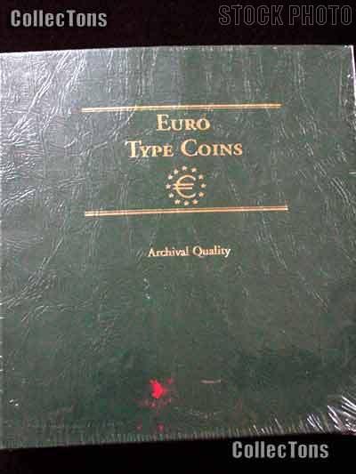 Littleton Euro Type Coins Album LCA58