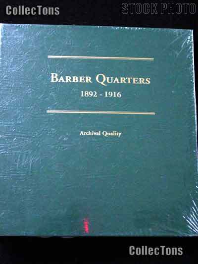 Littleton Barber Quarters 1892-1916 Album LCA26