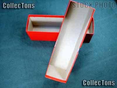 """Regular Duty Single Row Box 2.5"""" Coin Holders & Slabs"""