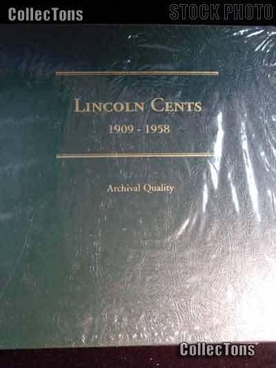 Littleton Lincoln Wheat Cents 1909-1958 Album LCA1