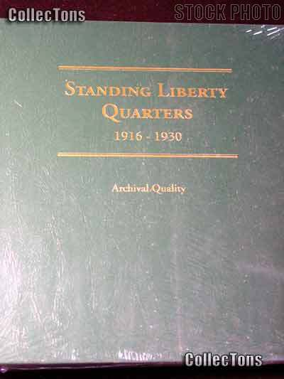 Littleton Standing Liberty Quarters SLQ Album LCA57