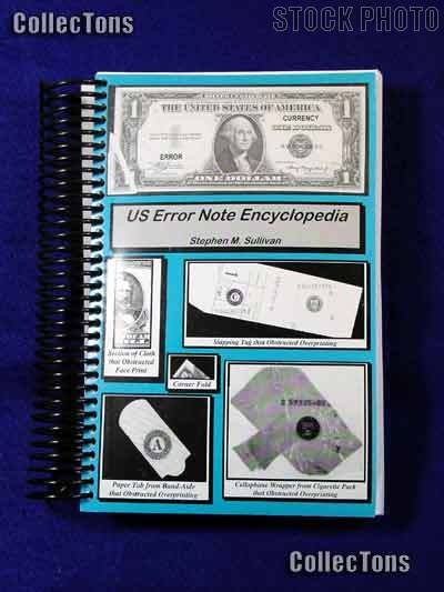 U.S. Error Note Encyclopedia Book - Stephen Sullivan