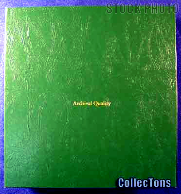 Littleton Blank Coin Album Binder LCA30