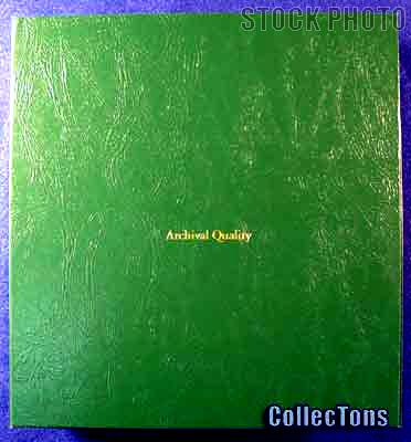 Littleton Blank Coin Album Binder LCA30