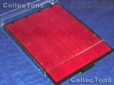 Lighthouse Coin Case for 2x2 & QUADRUM Holders MB20M Red