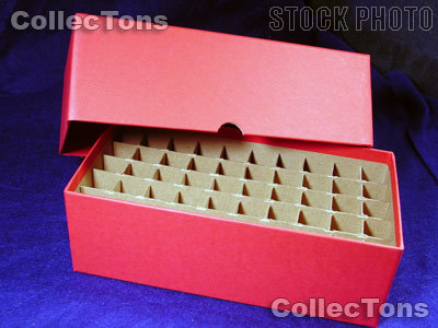 Coin Roll Box for 50 Rolls or Tubes of CENTS