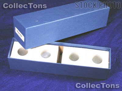Single Row Storage Box & 100 2x2 Holders for NICKELS