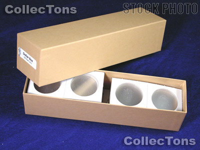 Single Row Storage Box & 100 2x2 Holders LARGE DOLLARS