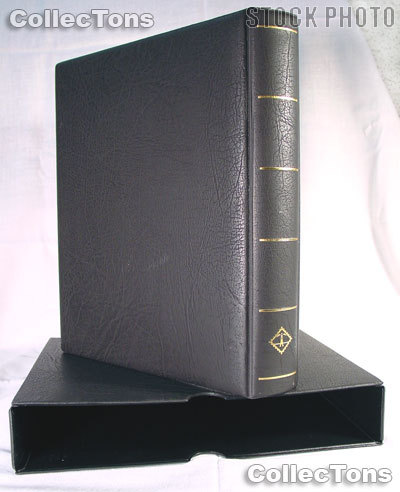 Lighthouse Vario-F Sheet Binder and Slipcase in Black