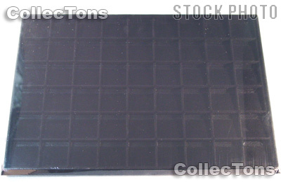 Horizontal Coin Tray for 1.5x1.5 Coin Holders in Black