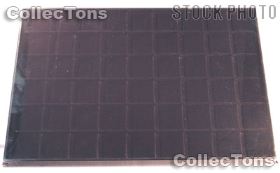 Vertical Coin Tray for 1.5x1.5 Coin Holders in Black