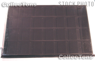 Vertical Coin Tray for 2x2 Coin Holders in Black