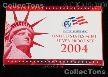 2004 SILVER PROOF SET OGP Replacement Box and COA