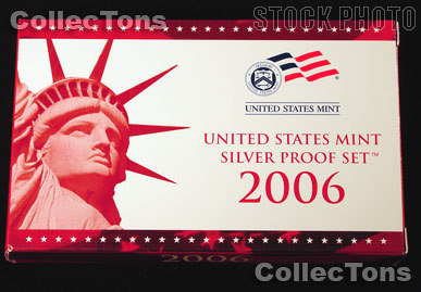 2006 SILVER PROOF SET OGP Replacement Box and COA