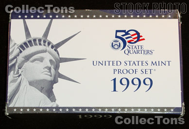 1999 U.S. Mint PROOF SET - 9 Coins