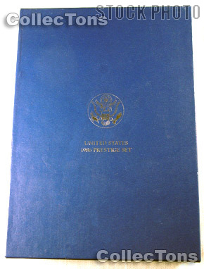 1986 PRESTIGE PROOF SET Deluxe OGP Replacement Box and COA