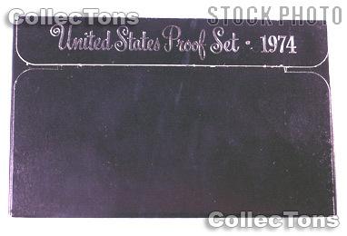 1974 U.S. Mint Proof Set OGP Replacement Box