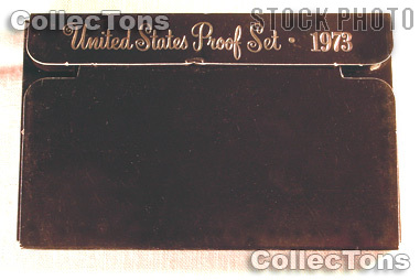 1973 U.S. Mint Proof Set OGP Replacement Box